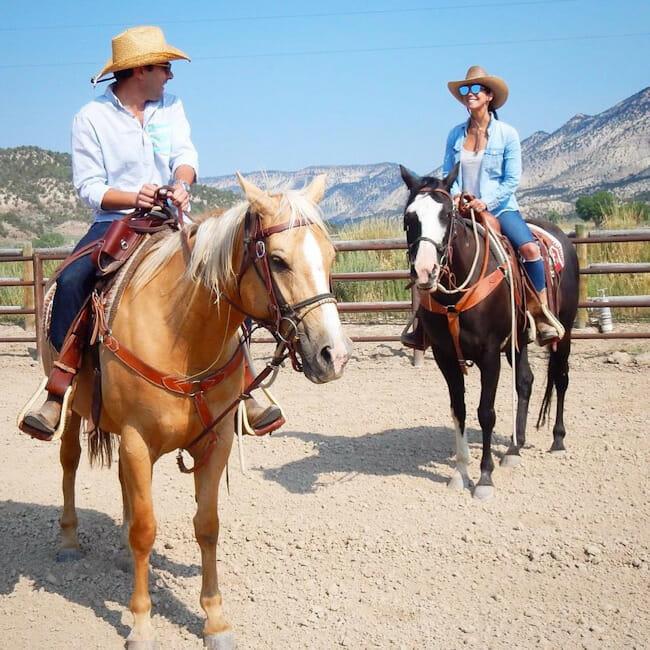 Horseback Riding In Western Colorado