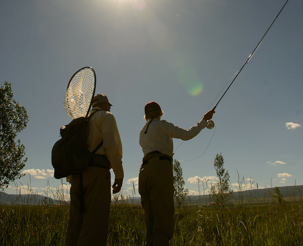 Learn To Fly Fishing In Colorado