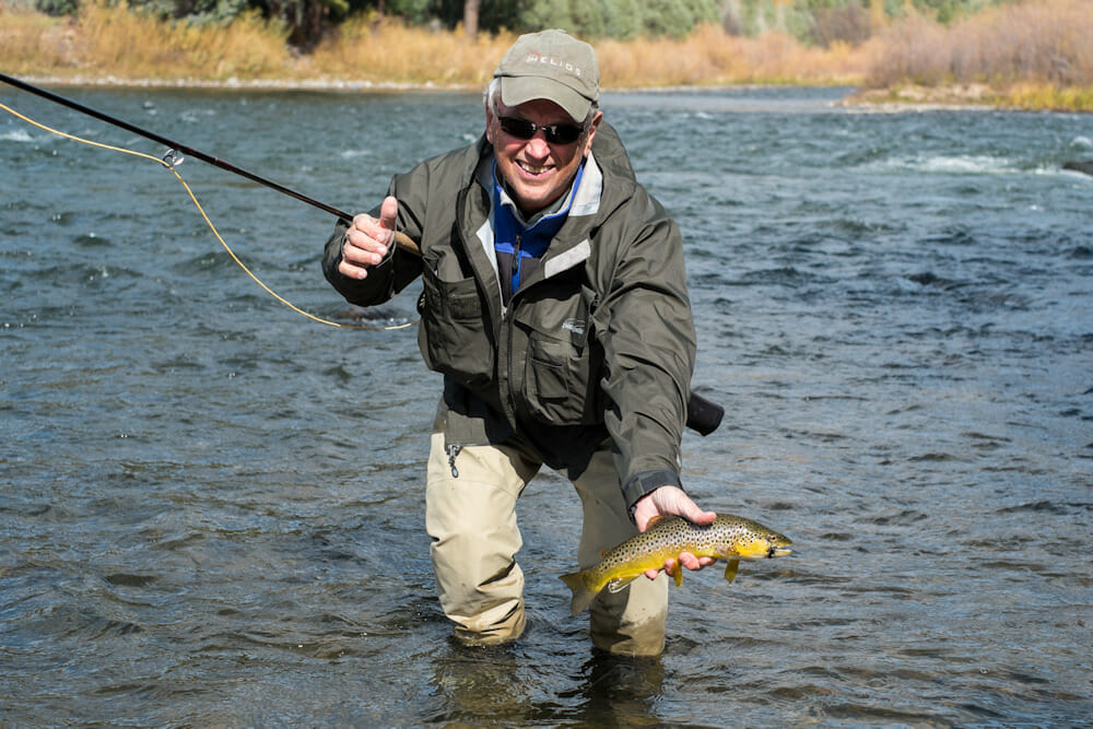 Brown Trout Fishing In Colorado