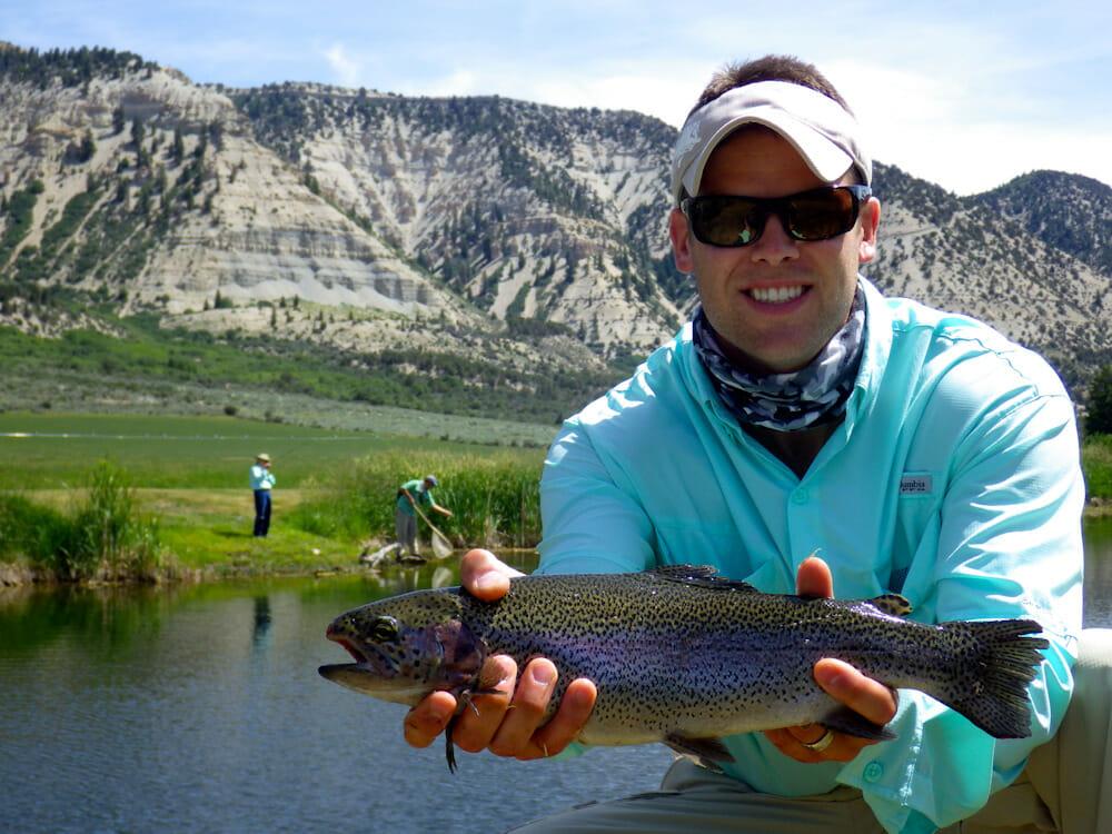 Rainbow Trout in Western Colorado